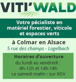 vitiwald, matériel forestier, viticole et espaces verts à Colmar en Alsace